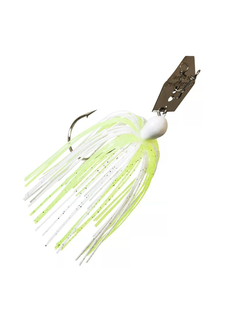 Chartreuse/White