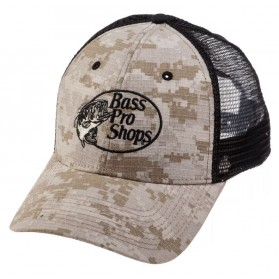 Gorra Malla Bass Pro Shops Digital Desert Camo Trucker Mesh Cap