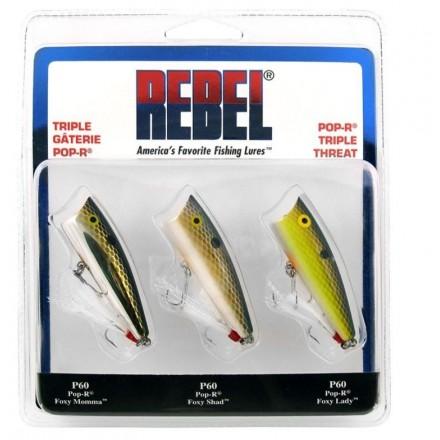 Kit Rebel Pop-R Triple Threat Paquete x 3