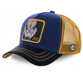 Gorra Malla Capslab Dragon Ball Z Majin Vegeta