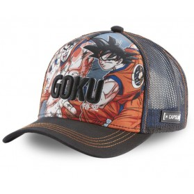 Gorra Malla Capslab Dragon Ball Z 4 Goku Multicolor