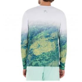 Camiseta Guy Harvey UPF 50 Perfomance Camo River Light Realtree