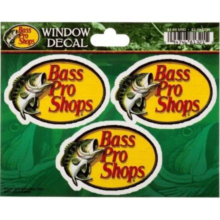 Calcomanías Bass Pro Shops