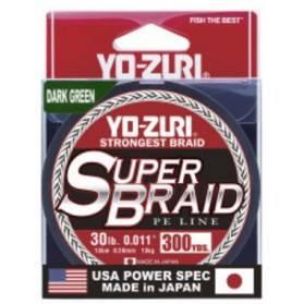 Línea Trenzada Yo-zuri Superbraid