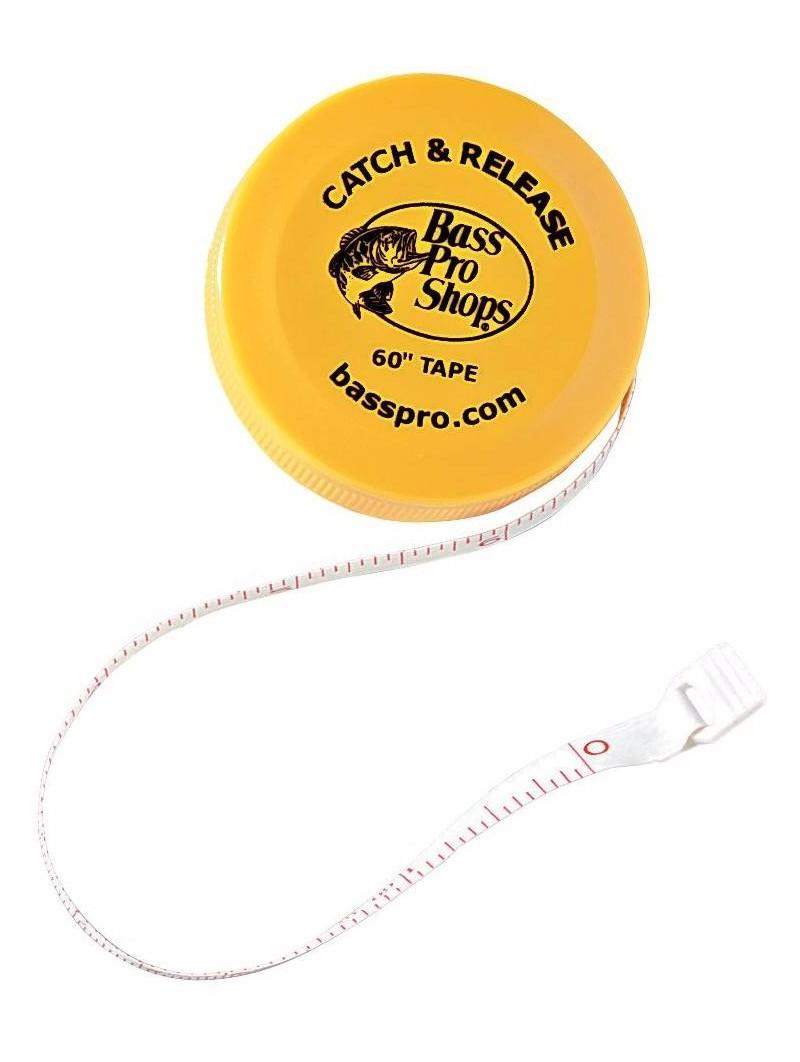 Cinta Métrica Bass Pro Shops Impermeable Catch & Release 150cm