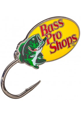 Broche Gorra Bass Pro Shops Logo Fish Hook Hat Pin/Tie Clasp