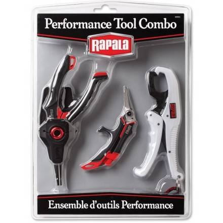 Combo Rapala Performance Tool (Pinzas-CortaLínea-Grip):