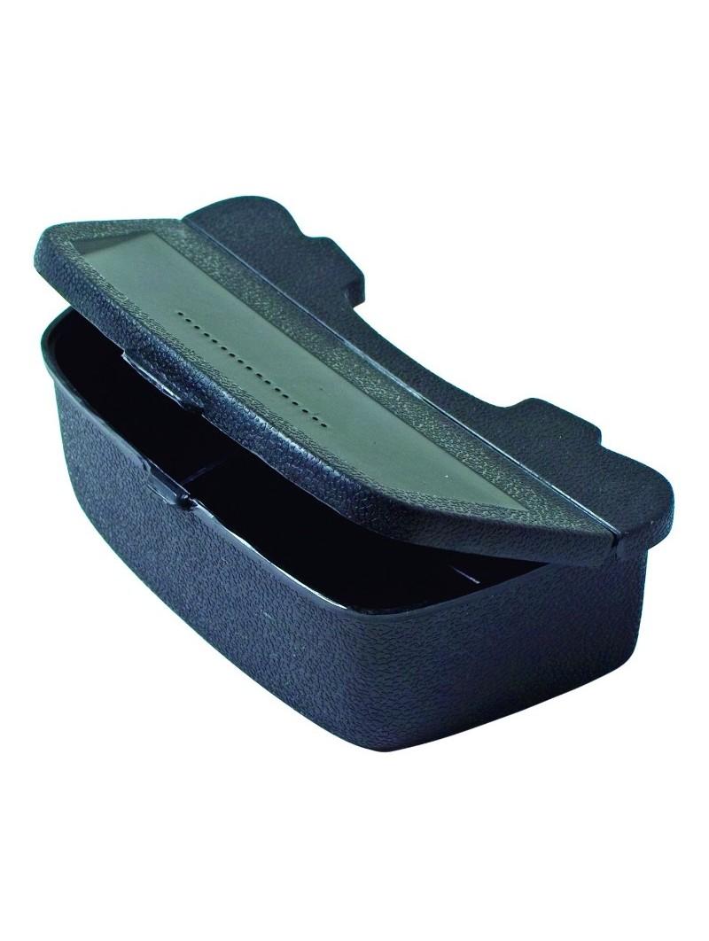 Caja Eagle Claw de cintura para señuelos con 2 compartimentos 7.5x14cm