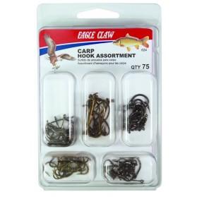 Anzuelos surtidos Eagle Claw Carpa 624H - PAQx75