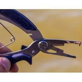 Pinzas  Eagle Claw para Split Rings con corta línea trenzada