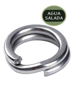 Argollas Mustad MA111 Saltism Snap Split Rings
