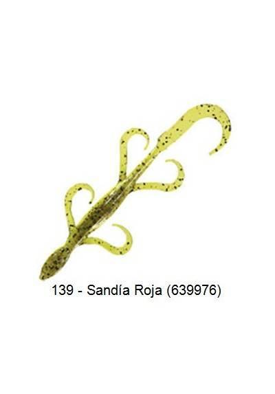 Lagartija Squirmin 10cm PAQx16