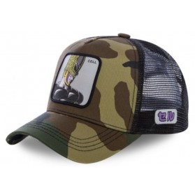 Gorra Malla Capslab Dragon Ball Z Cell